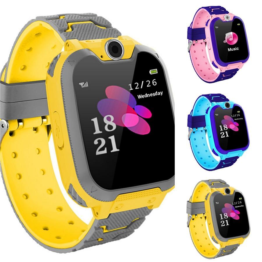 Moda Rapazes Raparigas Crianças Crianças Estudantes Esporte Digital Led Watches New Mens Womens Touch Screen Rubber presente Silicone Relógios # 826