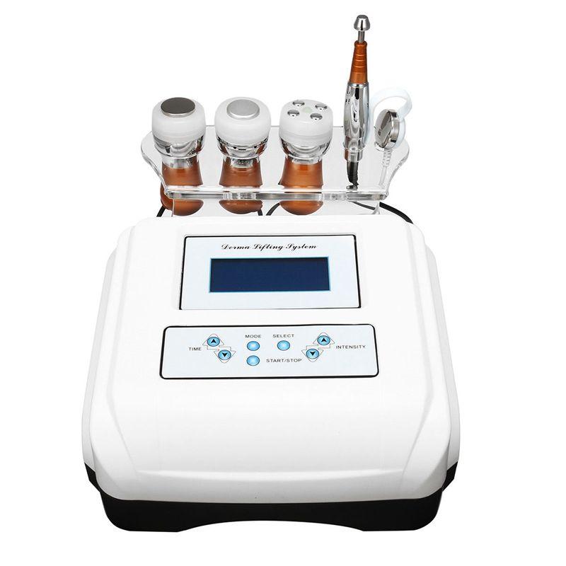 4in1 No-Needle Mesotherapy Lighten Spots Ultrasonic Bio Face Lifting Care Wrinkle Removal PDT Skin Rejuvenation Beauty Device