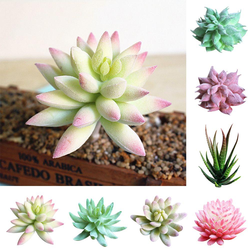 Plantes succulentes artificielles Aloe Zebrina Plantes artificielles Paysage Faux Arrangement de Fleurs Jardin Décoration Accessoires
