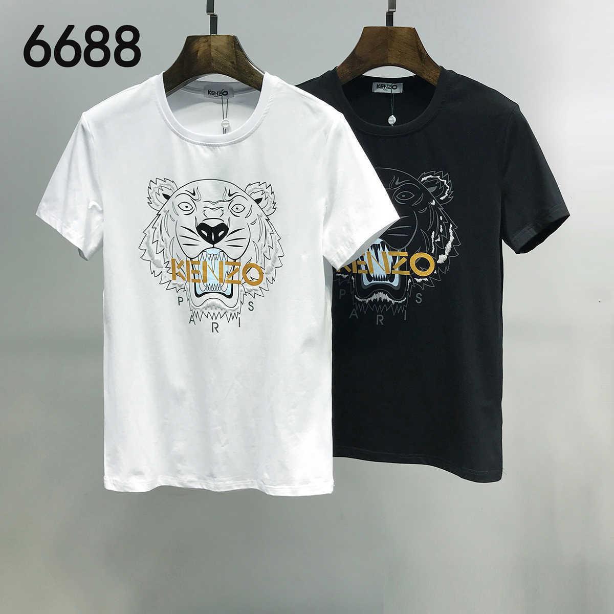 Популярные Новое прибытие Оригинальный дизайн мужчины и женщины футболки Чистый хлопок Короткие рукава Tops Tshirt Изысканный печати Идеальное качество