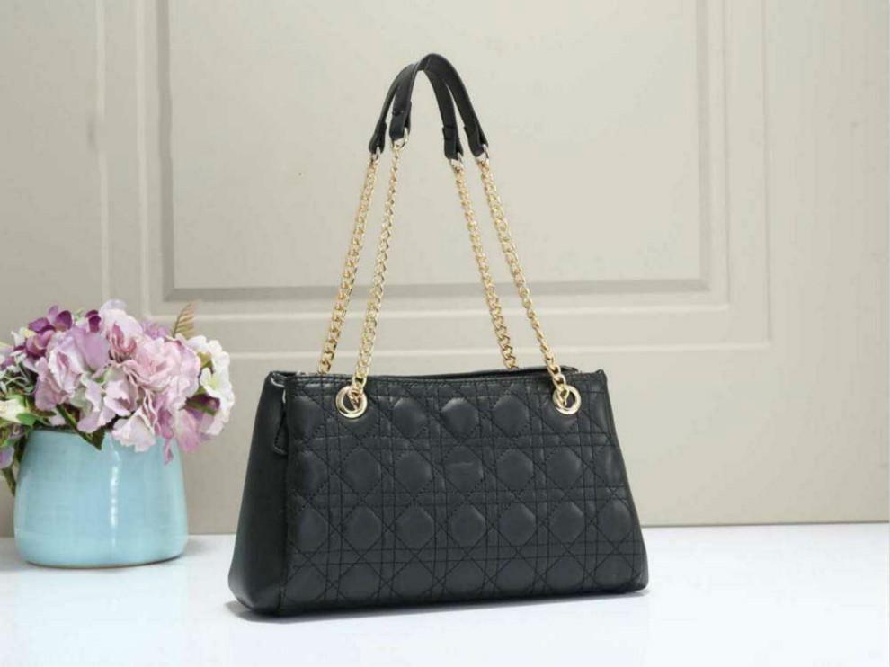 La moda de Nueva cadena de lujo diseñador simple de un hombro compartimiento interno de gran capacidad del bolso de Crossbody