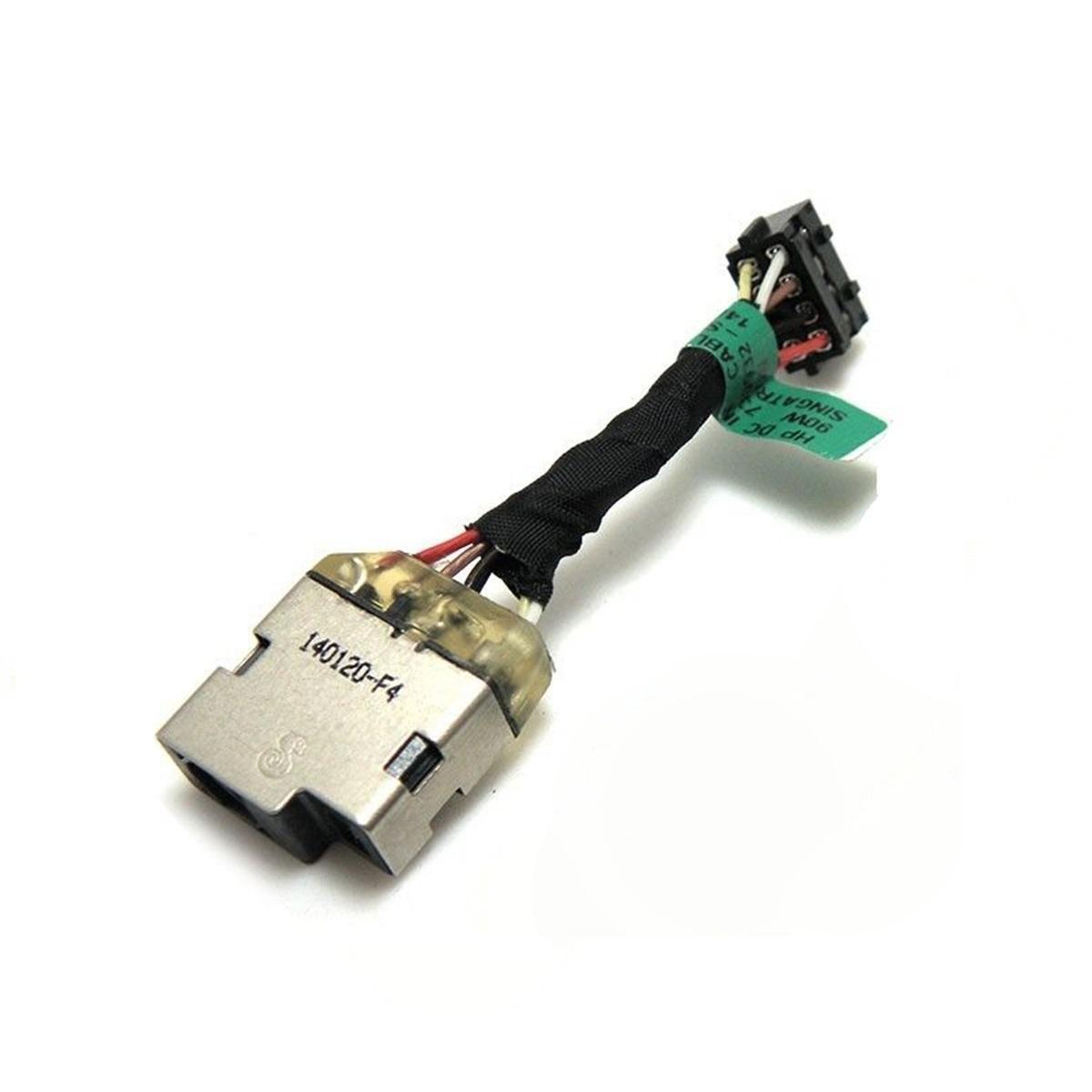DC güç Jak Kablo Bağlantı için HP Pavilion 10-E 14, N 14 15 V-F 15-N 15-P = 15-K