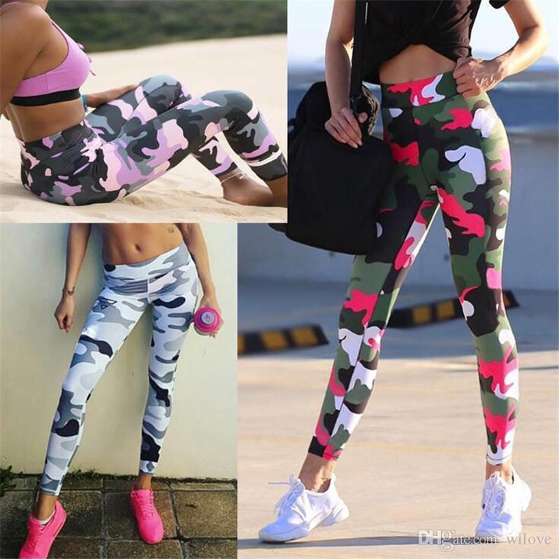 Fashion Ladies Casual 3D Print Snowflake Hip Hop Fashion Camouflage Camo Cargo Pants Hip Hop Dance Long Pants Womens Trousers