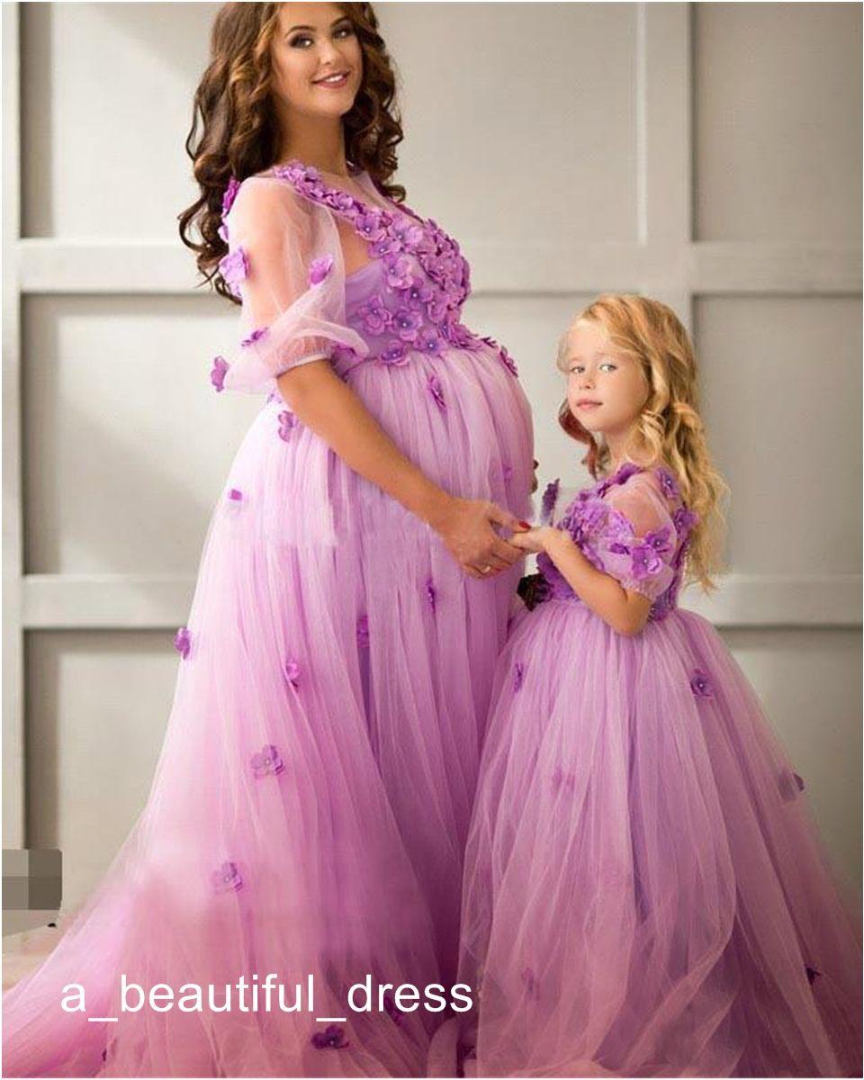 Flower Girls' Dresses Summer Beautiful baby Clothes Girl Wedding Princess Dresses Kids Party Wear Costume Long Children Clothing FG1317
