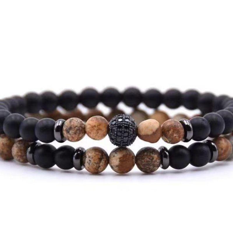 bracciali uomini / perle in pietra / moda / fascino / inox sottile leone acciaio braccialetti per gli uomini delle donne personalizzati bracciali mens gioielli