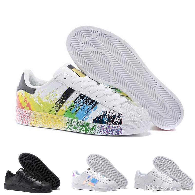 Cheap 2019 Wholesale Superstar 80S New Low Fashion Sneaker Men s & Women s Foundation Casual Sneaker Shoes Classic Shoes