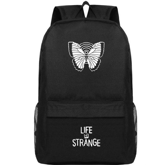 A vida é Mochila Estranha Whatif pacote de dia de borboleta Jogo mochila de qualidade Packsack de lazer Mochila de lazer Mochila de esporte Mochila ao ar livre