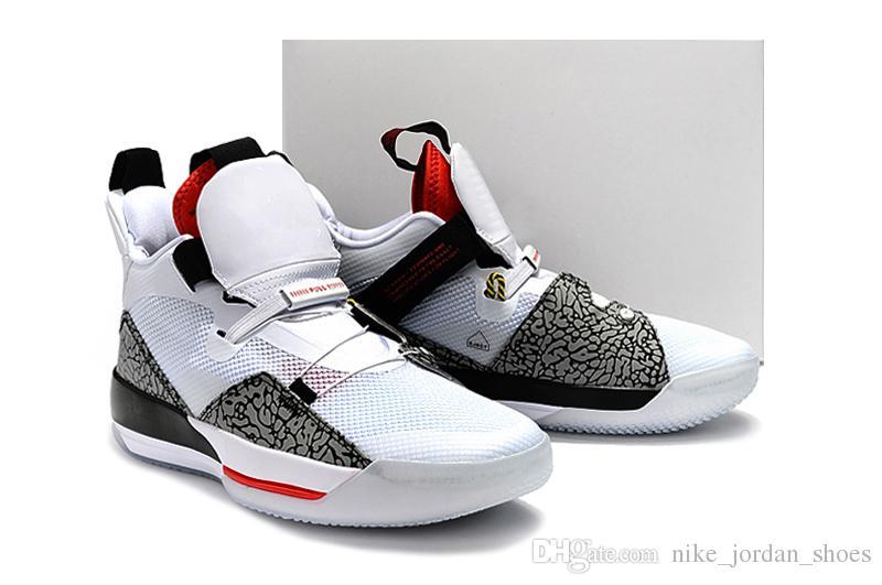 Black Red Men Basketball Shoes Good