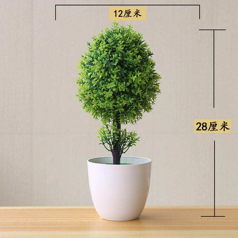 5 Renkler Yeni Plastik Yapay Ağaç Bonsai Peyzaj Pot Kültür Simülasyon Ağaç Bitkiler Ofis Odası Mobilyası Ev Dekorasyon