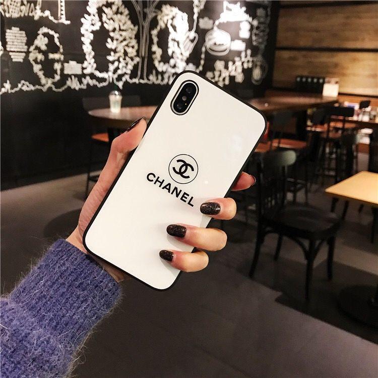 Designer de telefone iPhone para o caso 11 11Pro 11PROMAX Xs MAX Xr 6 7 8 Plus Case Capa do telefone de SUP de vidro temperado