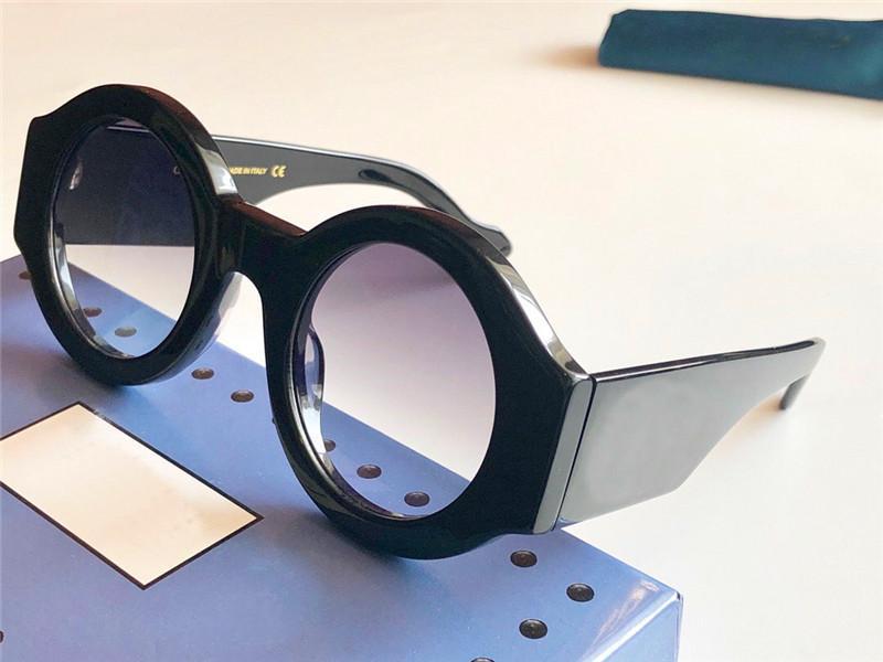 I nuovi occhiali da sole firmati retrò semplice telaio tondo 0630 la protezione UV di protezione 400 occhiali outdoor di alta qualità