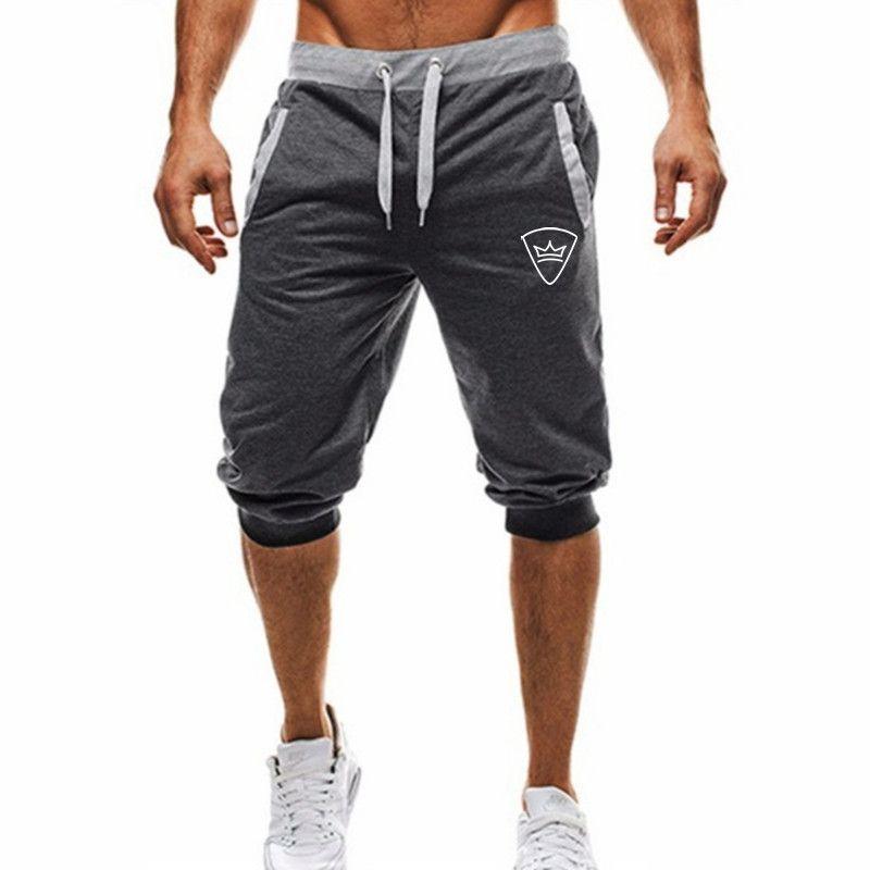 Estate Palestra Sport Pantaloncini da corsa Uomo Marca Moda traspirante pantaloncini confortevoli Plus Size Fitness Mens Bodybuilding