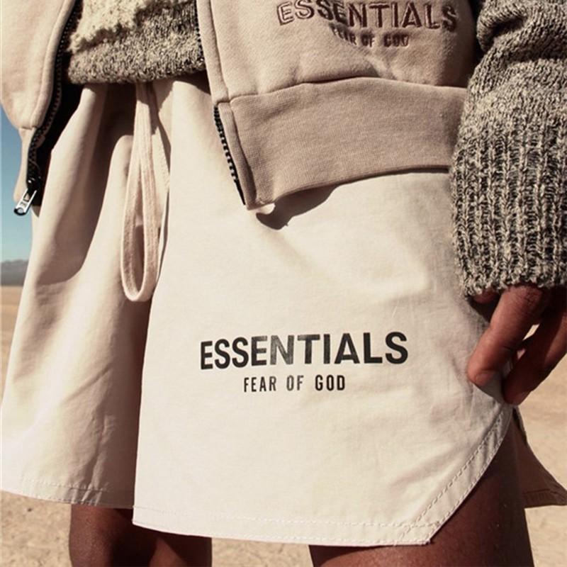 Essentials FOG Mens Abbigliamento sportivo Shorts 3M riflettente Colore Shorts Lettera di stampa Highstreet Vintage Uomini Streetwear