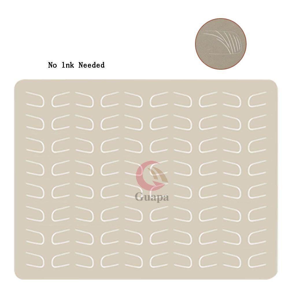 10 قطع لا الحبر المطلوبة microblading اللاتكس الحاجب رئيس الوشم ممارسة الجلد الوشم إمدادات التدريب ل الحاجب ماكياج دائم