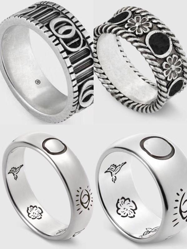 Silber überzogener Ring haben Briefmarken Rings Moissanite Bague für Herren und Frauen Party Modeschmuck für Cuples Geschenkversorgung