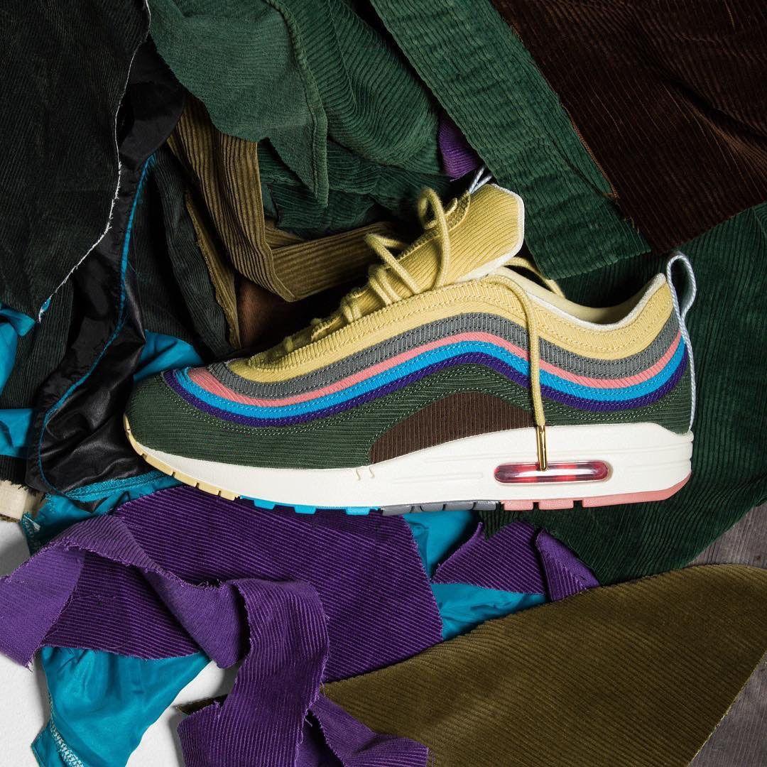 designers de 2020 New Sean Wotherspoon 1/97 dos homens e das mulheres tênis e sapatos casuais Almofada de prata ouro sneakers calçados esportivos