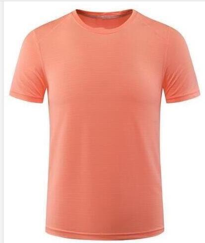18 nuevo color naranja del verano del diseñador bellamente diseñado hombre ocasionales de los deportes camiseta de la manera ocasional de las mujeres de manga corta a la venta