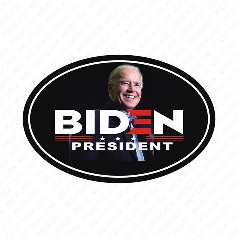 금속 방수 스티커 저렴한 D7207 2020 조 바이든 미국 선거 편지 인쇄 자동차 자석 스티커 냉장고 자석 적합