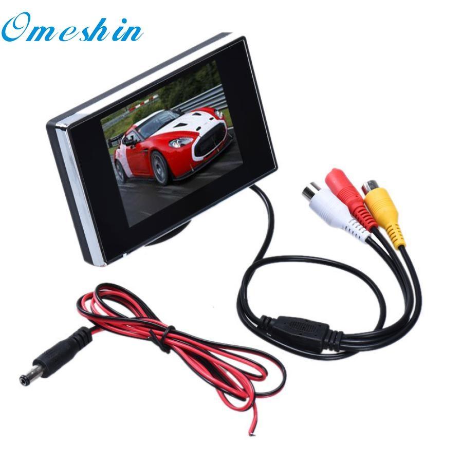 Chegada Nova 3,5 polegadas TFT LCD a cores de tela Car Rear View Monitor de DVD DVR dr7
