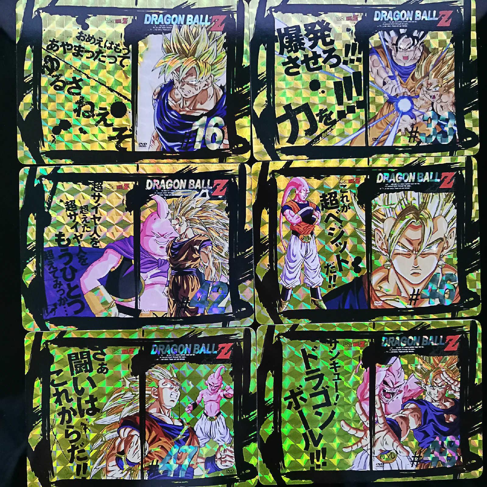 49pcs / set Dragon Ball Z CD DVD complet carte de combat Heroes édition CoverBall Goku Super Game Collection Cartes T191021