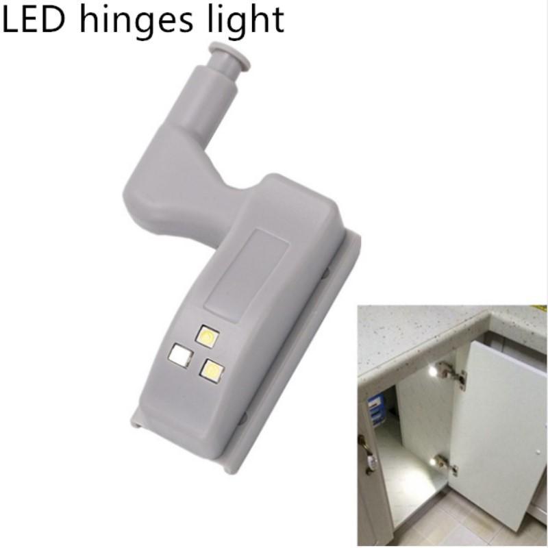 LED Altında Kabine Işık Dolap Işık Sensörü Led İç Döngü Menteşe Lambası İçin Dolap Dolap Mutfak Yatak Gece Aydınlatma