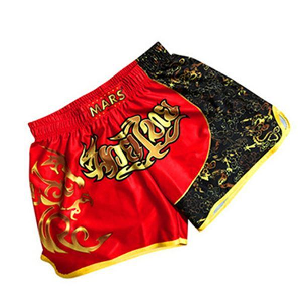 Модные мужские дизайнерские летние шорты Boxer Man Баскетбольный тренировочный костюм UFC MMA Fighting Бег Тренировочные брюки Антифрикционные Свободные брюки
