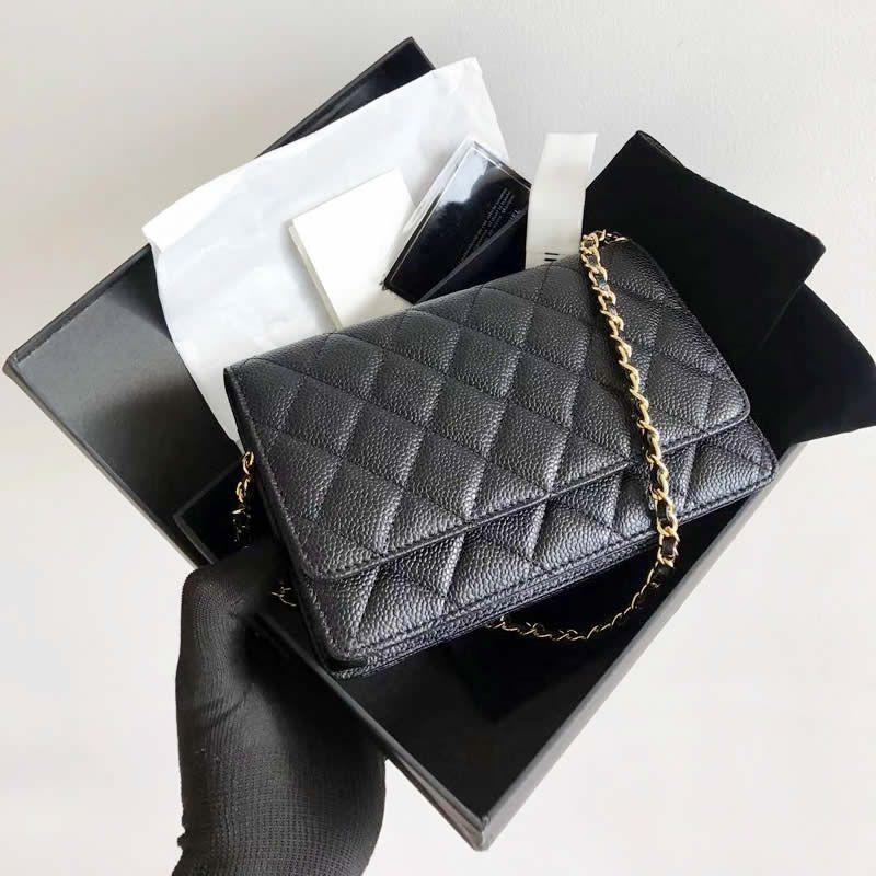 uxury WOC мода простой небольшая квадратных мешка женщины высокого качества натуральной кожа цепь мобильного телефон плечо сумка