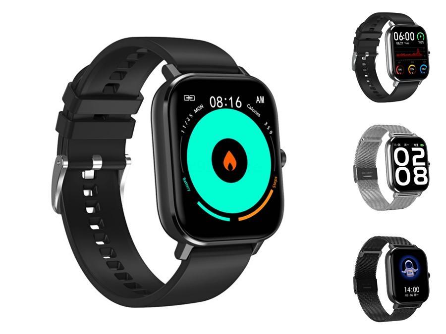 DT-35 Smart Watch Kw18 Heart Rate Compatible Digital Watch Mini Sim подходит для Ios и Android Os Bluetooth #QA33970