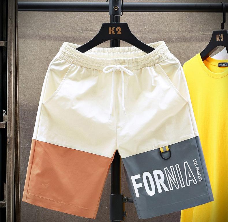 Hommes Shorts d'été Shorts Hommes lettres imprimées Mode Pantalon court été Sport Joggers taille élastique Vêtements de haute qualité