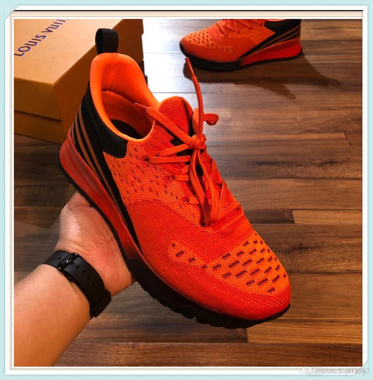 de alta calidad zapatos deportivos zapatos de moda más casual de lujo zapatos de conducción de bajo costo de los hombres de cuero de los hombres de skate 38-45