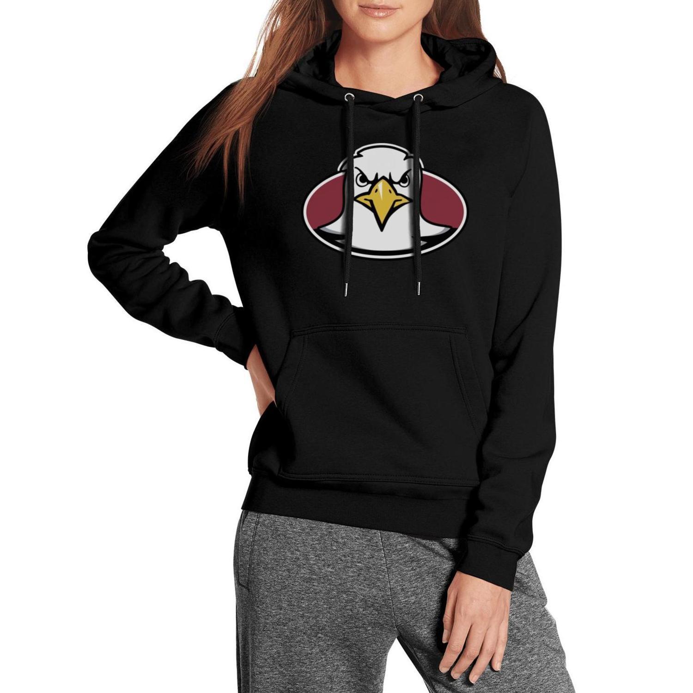 إمرأة كلية بوسطن النسور شعار كرة القدم قميص من النوع الثقيل المتضخم مع القطن الجيب عالية الجودة التمويه الأساسية دخان الرخام طباعة