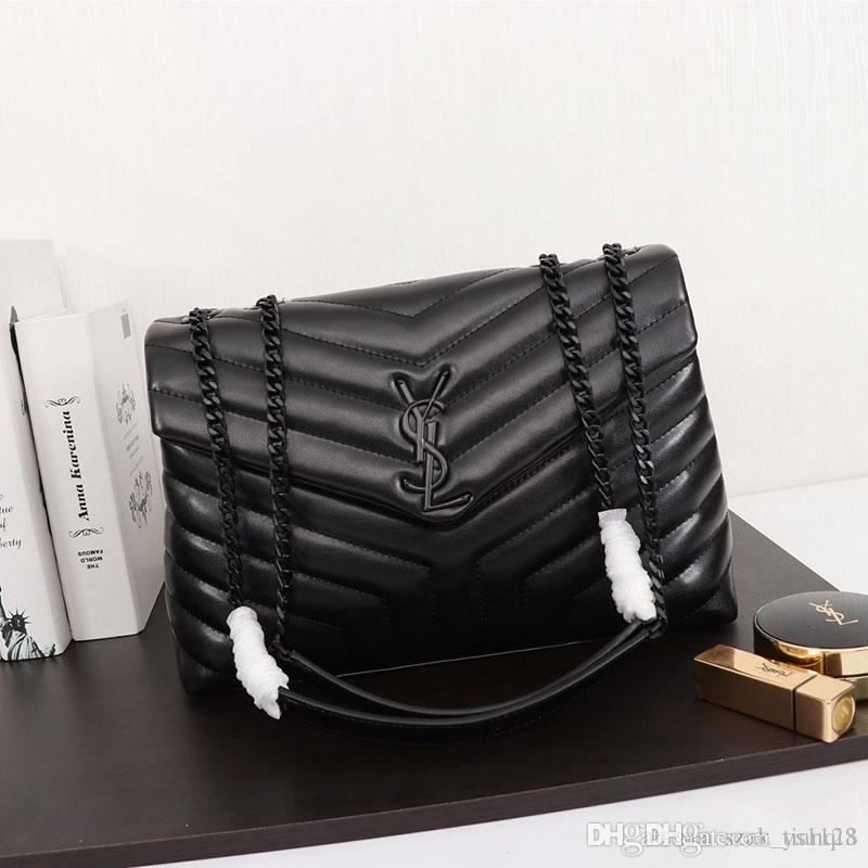 Neues Designer-Luxus-Designer-Handtasche Umhängetasche Damen Metallkette Leder gefertigt Modell Handtasche Art und Weise Luxus: 459.749 A123