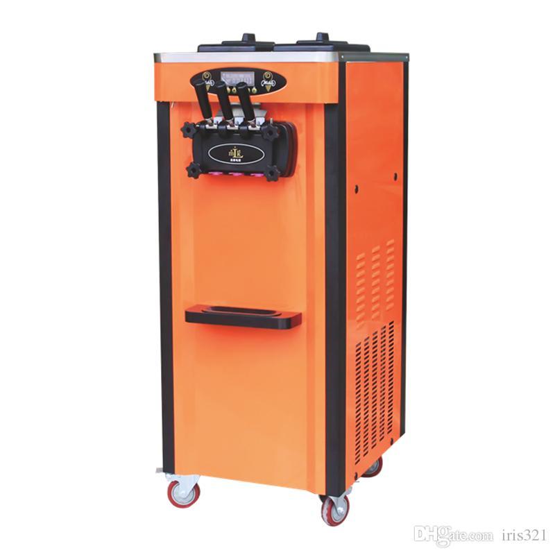 Machine à crème glacée molle de saveur mélangée commerciale de 110v 60Hz pour la vente multi machine à crème glacée de saveur