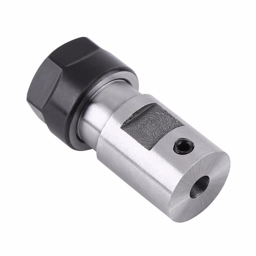 ER11 5mm Arbre de Moteur Mandrin de Moteur en Acier pour Machine de Fraisage Perceuse CNC