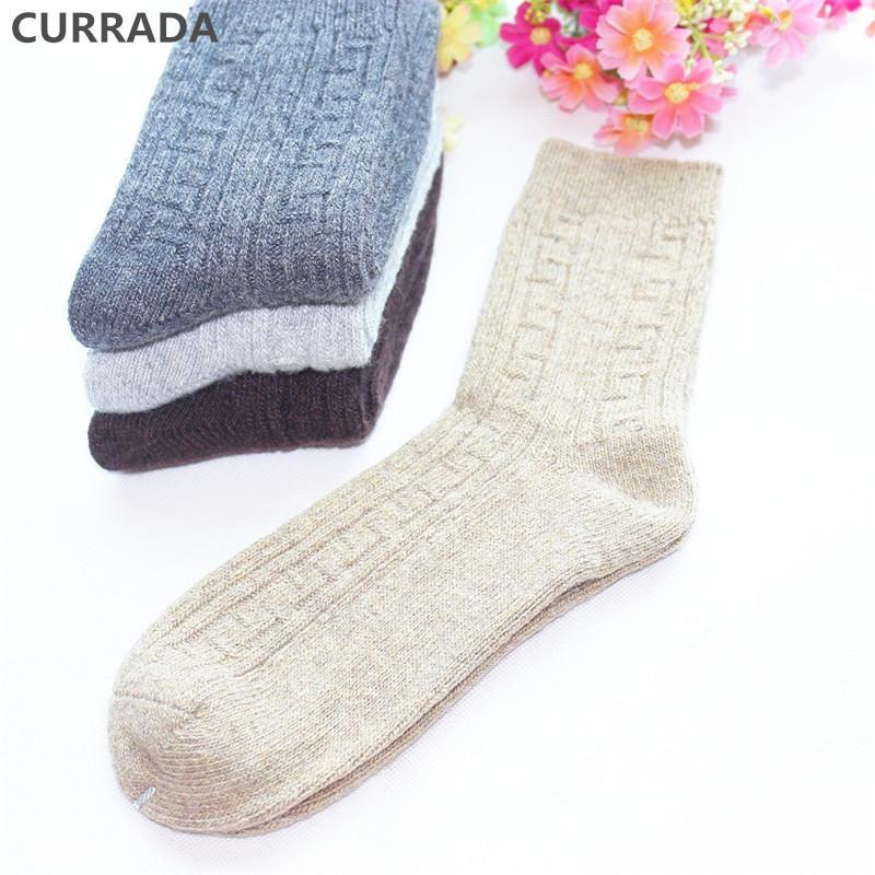 4pairs/lot Warm Men Socks High Quality Winter Merino Wool Socks Thick fashion Classic Business Casual Crew thermal man Socks