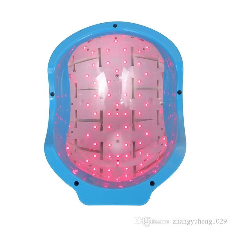 Tragbare Low-Level-Laser-Therapie Haarwachstum Nachwachsen Pflege Verjüngung Helm Gerät 678 nm LLLT Diode Cap Anti Haarausfall Behandlung Maschine