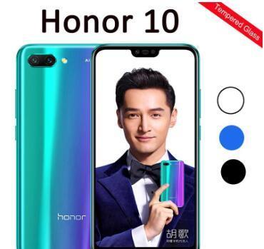 보호 유리 명예 화웨이 Honor10 COL-L29 Honor10의 5.84inch 화면 보호 안전 필름 보호를위한 10 강화 유리