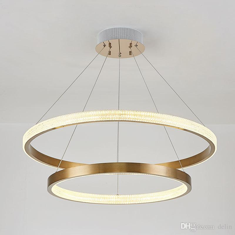 Kısa tasarımı, modern LED avize lamba alüminyum altın avize yaşam aydınlatma ve projeler 90-260V ücretsiz kargo ışıkları