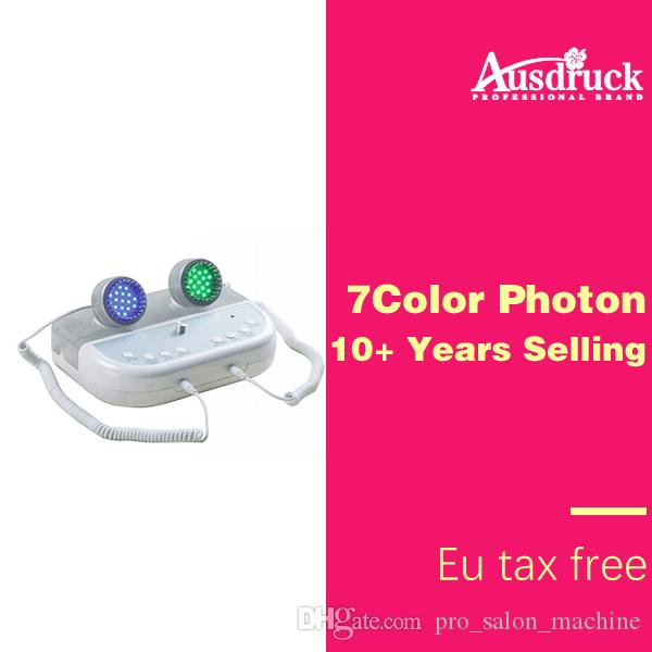 7 Kleur Photon LED Huidverjonging Machine Ion Cleaner Microcurrent Skin Lifting Facial Skin Care Acne Rimpel Remover Beauty Machine