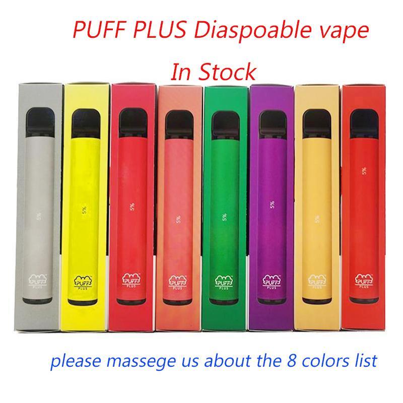 OEM SOUFFLE PLUS 800 + Puff jetable Pod vide cigarette électronique Vape pods bâton Puff Bar cigarettes e PuffBar chic Portable Vaporizer