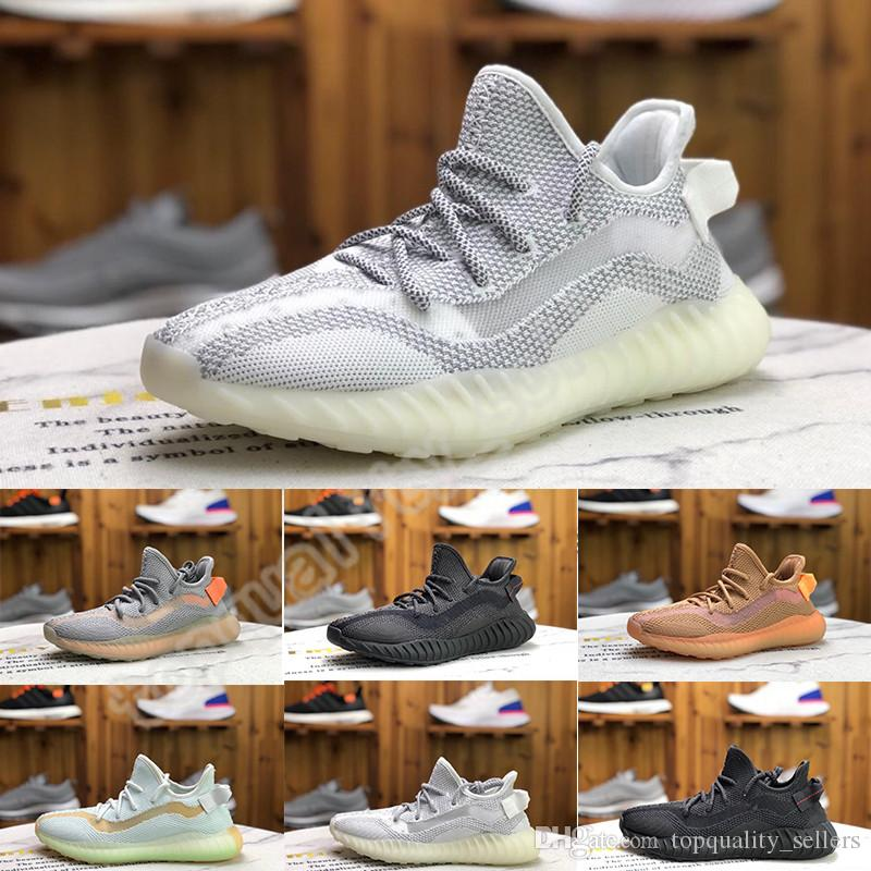V3 kanye west ayakkabılar doğa sporları spor ayakkabıları çalışan önümüzdeki ayakkabıları 3.0 çalıştıran nefes erkek kadınları çalıştıran beyaz uzaylı siyah kil tasarımcıları