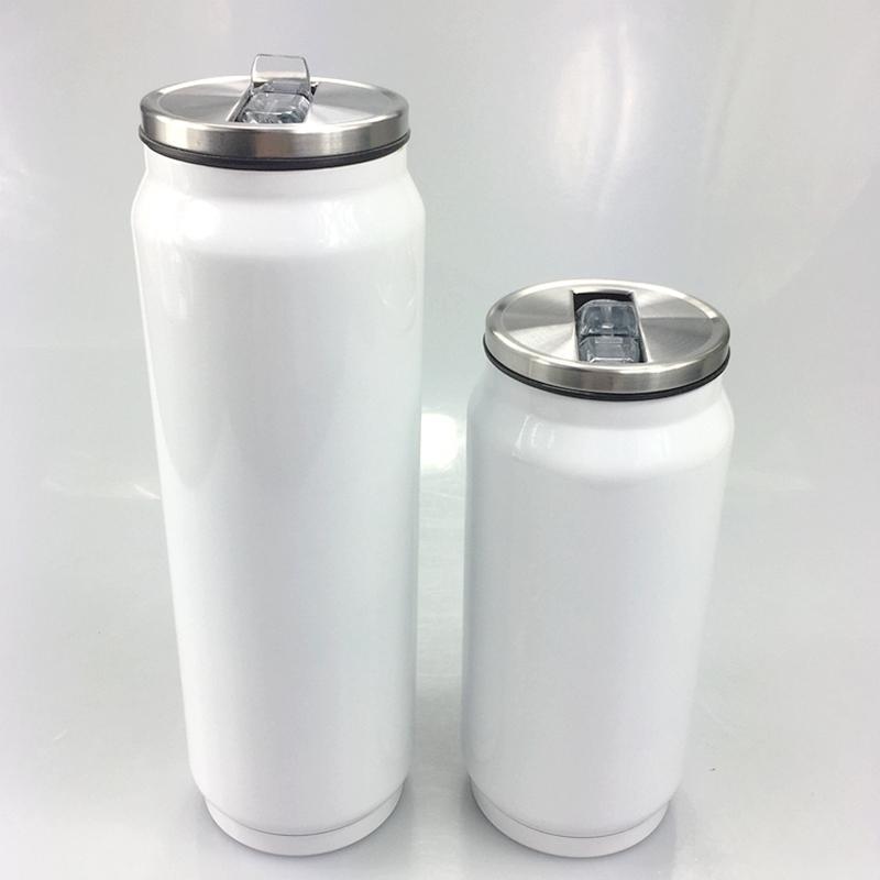 350 ㎖ 승화 음료 캔 500ml의 개인 DIY 열전 음료 텀블러 스테인레스 스틸 단열 커피 맥주 머그잔 A09