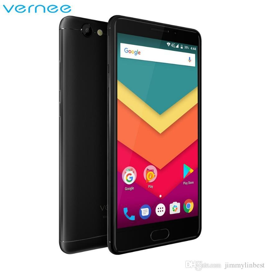 DHL Original Vernee Thor Plus 3GB 32GB Mobile Phone 5.5 inch AMOLED HD Octa Core Smartphone Android 7.0 phone 6200mAh Battery 13MP Cellphone