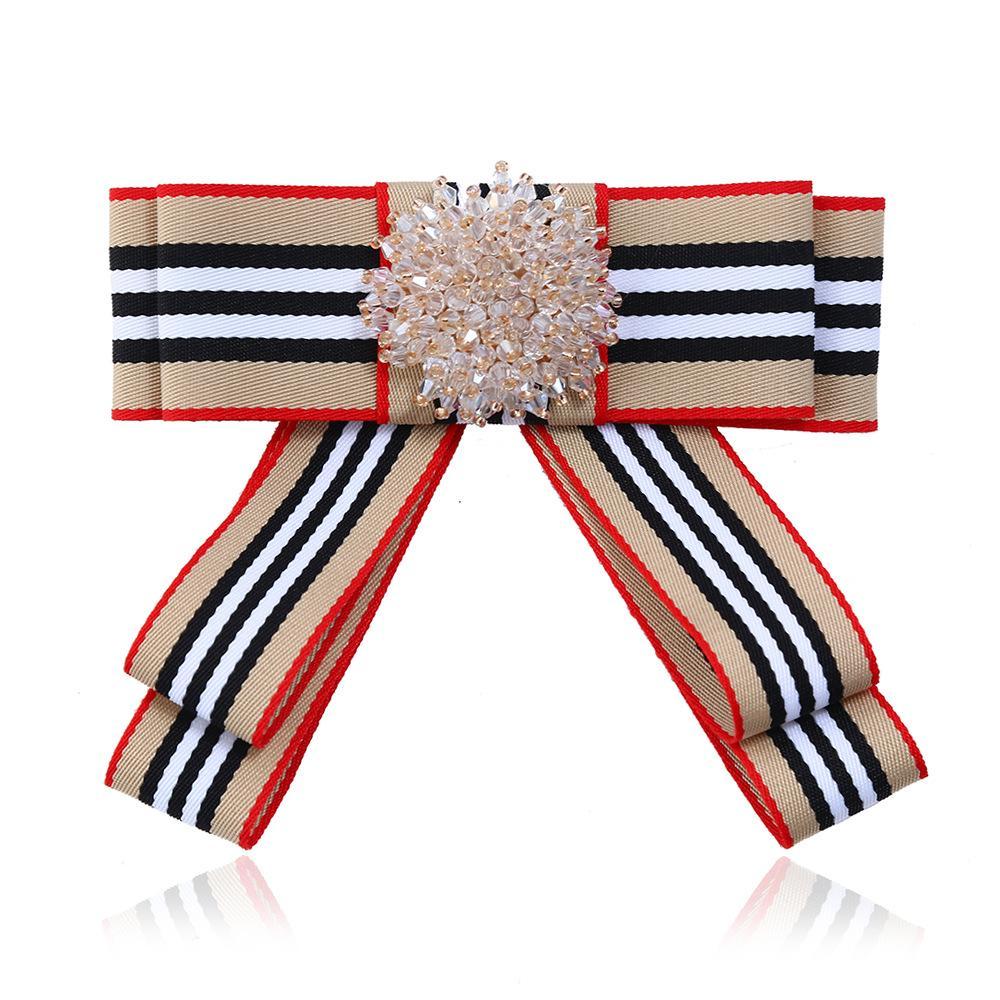 Laço de cristal Bowkie das Mulheres 7 Cores bowtie Profissional Para o banco da escola Vestido uniforme Do Hotel Lady gravata borboleta