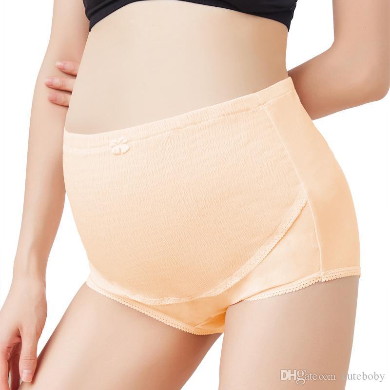 출산 팬티 팬티 속옷 임신 배꼽 출산 친한 조정면 스판덱스 출산 용품 플러스 사이즈 4 색 DHL