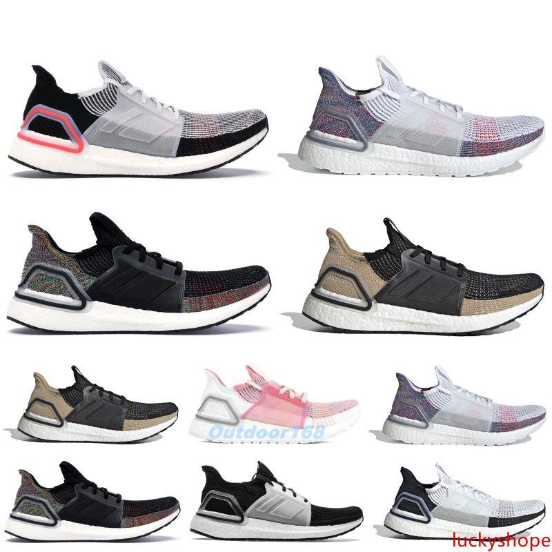 2019 Ultra 5.0 Primeknit Running Shoes With Designer Sneakers Core Black Raw Sand Ultra Men Women Sport Sneakers