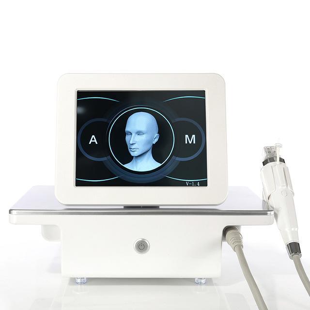 En İyi Kalite Yeni Tasarım 4 İpuçları Fraksiyonel RF Microneedle Yüz Bakımı Altın Cilt Akne Skor Streç Mark Kaldırma Tedavisi Güzellik Makinesi