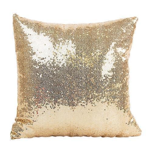40x40cm Glitter Bling lance fronha DIY Lantejoula Pillowcase Throw Pillow Home Hotel capa de almofada de alimentação 4Color