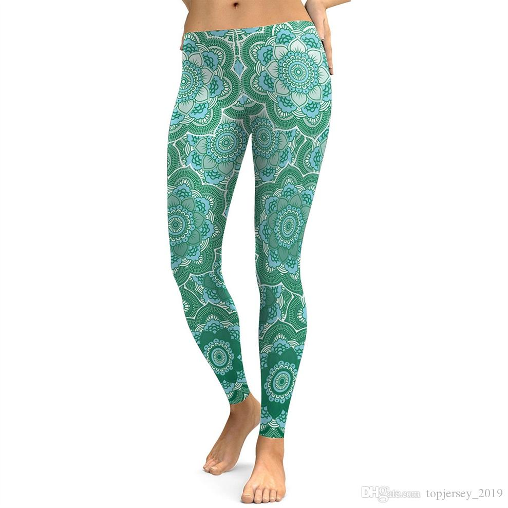 Moda Donna Leggings Fitness Sport Running Yoga Athletic Pants