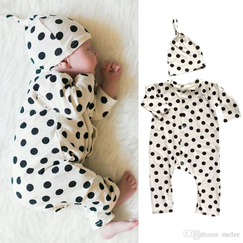 cf8878251 2019 Baby Designer Newborn Baby Boy Clothes Girl Bodysuit Infant ...